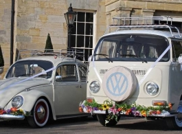 Classic VW Campervan for weddings in Littlehampton